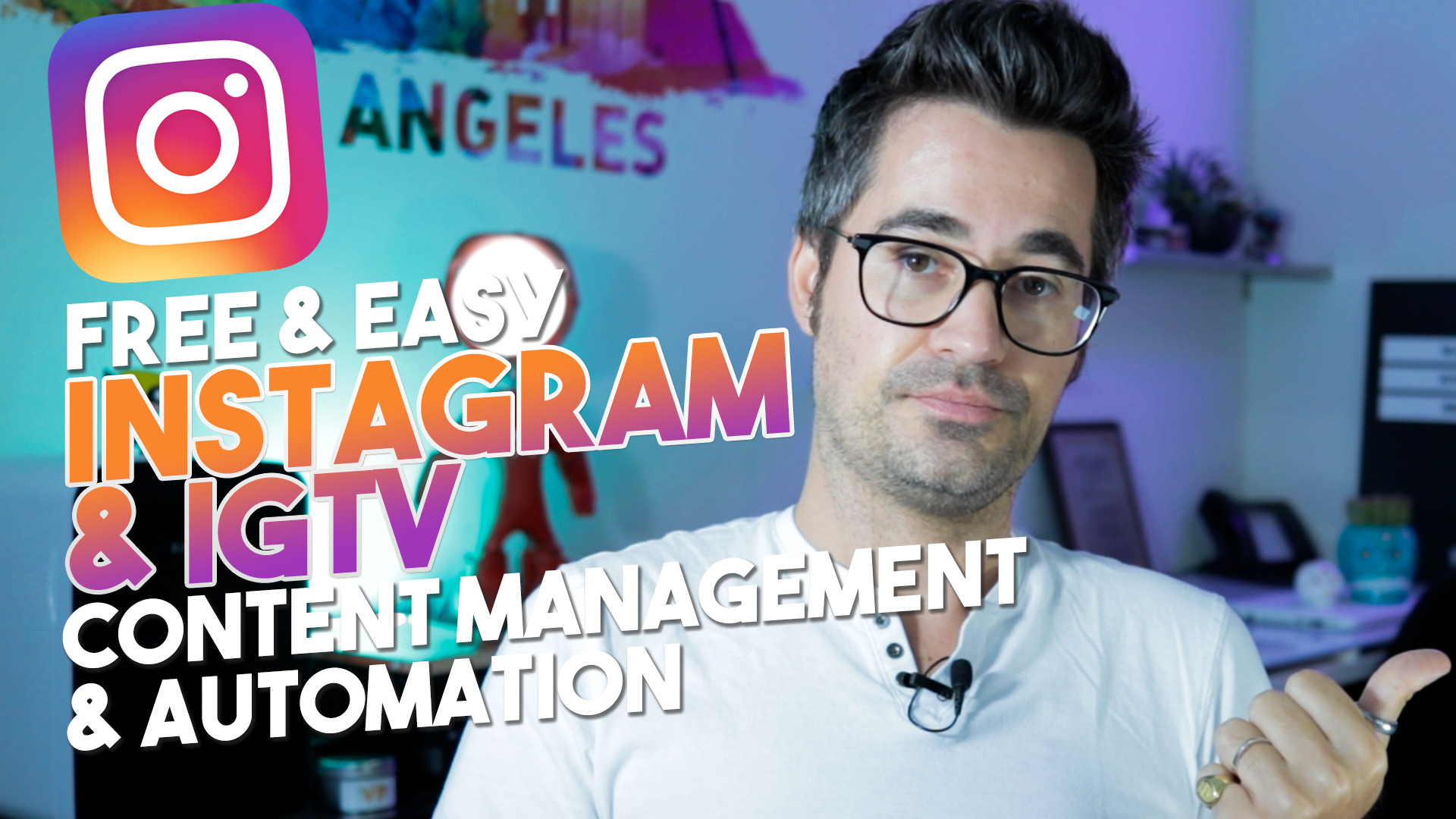 Gérer Instagram & IGTV facilement + gratuitement sur son ordinateur – Facebook Creator Studio video guide