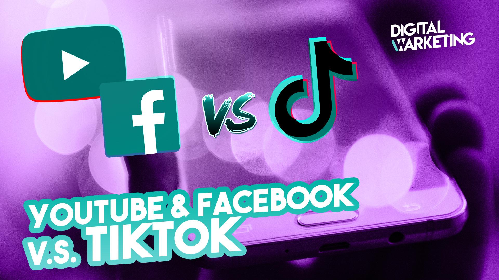 YouTube et Facebook : les nouveaux concurrents de TikTok !