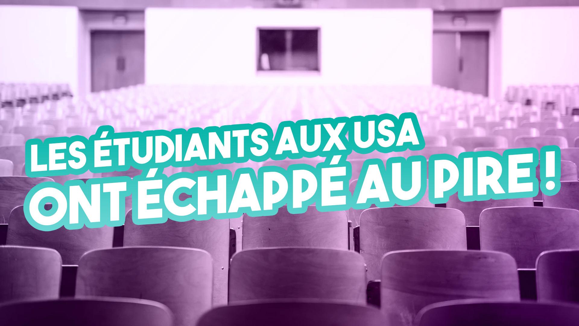 Etudier aux Etats-Unis 2020 – Les étudiants étrangers ont échappé au pire – Visa F-1