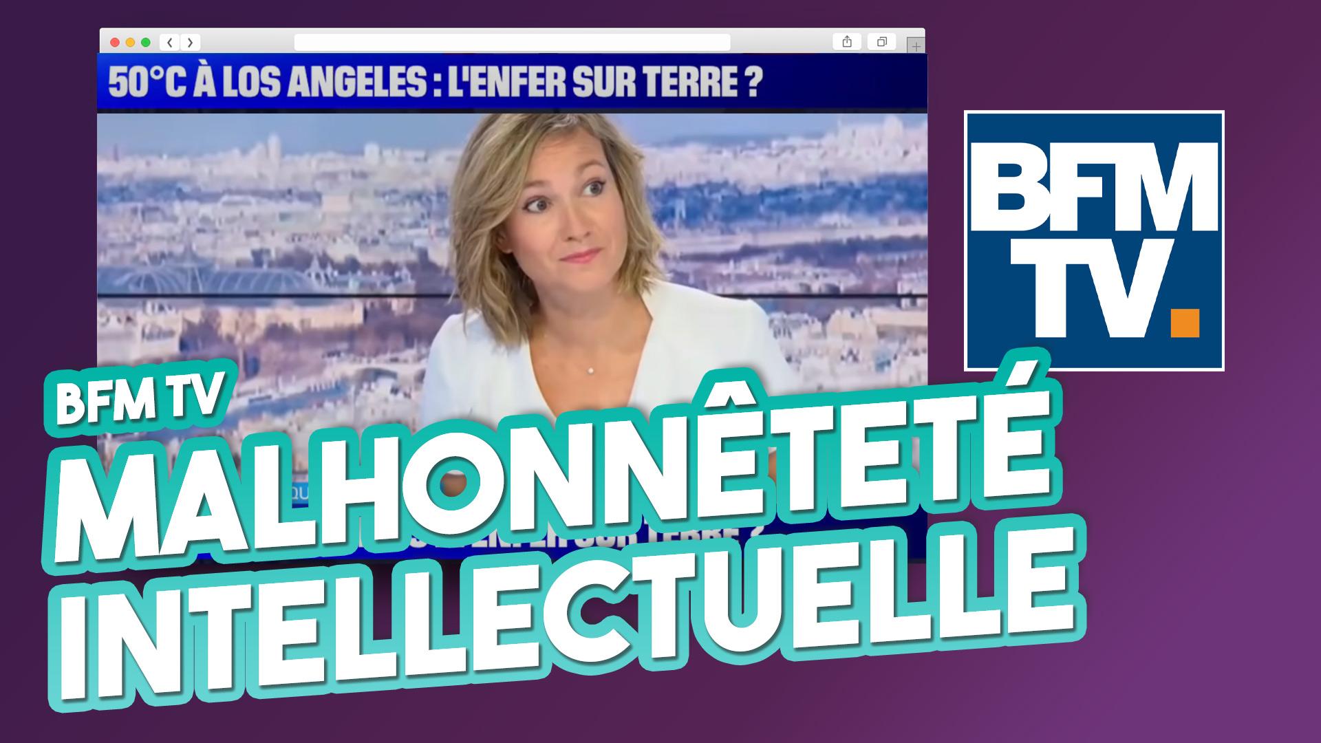 Réaction : BFM TV 🌡 50°C à Los Angeles, l'enfer sur terre? – Malhonnêteté intellectuelle