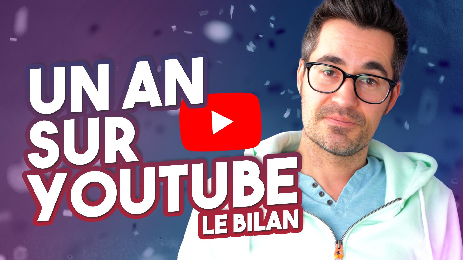 Un an sur YouTube : abonnés, monétisation, tops, flops – Le bilan de la chaîne