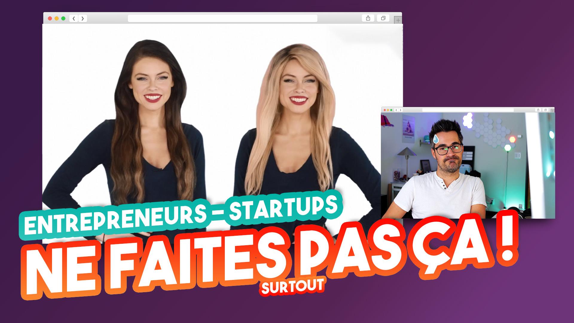 Entrepreneurs, startups : Les erreurs marketing à éviter sur votre site internet