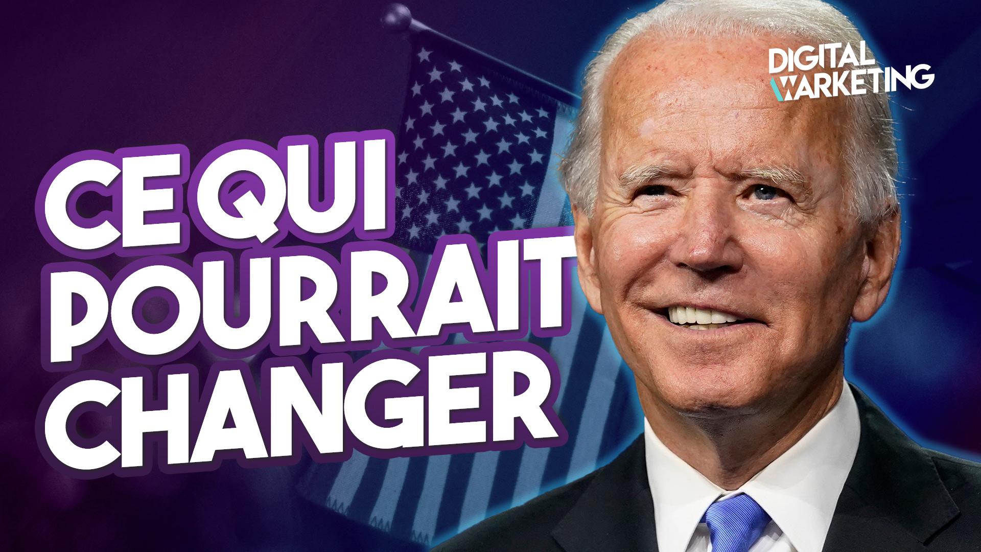 Joe Biden – Ce qui pourrait changer pour les Français aux Etats-Unis en 2021