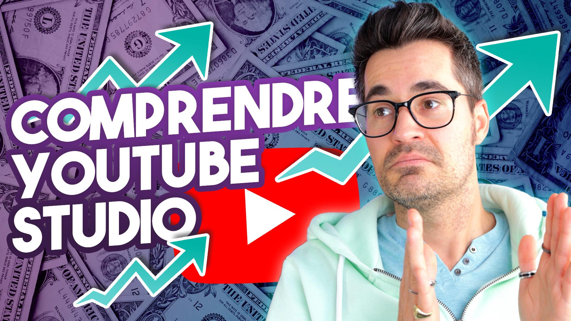 Comprendre YouTube Studio pour GAGNER PLUS 💰 Argent YouTube avec 2000 abonnés (Janvier 2021)