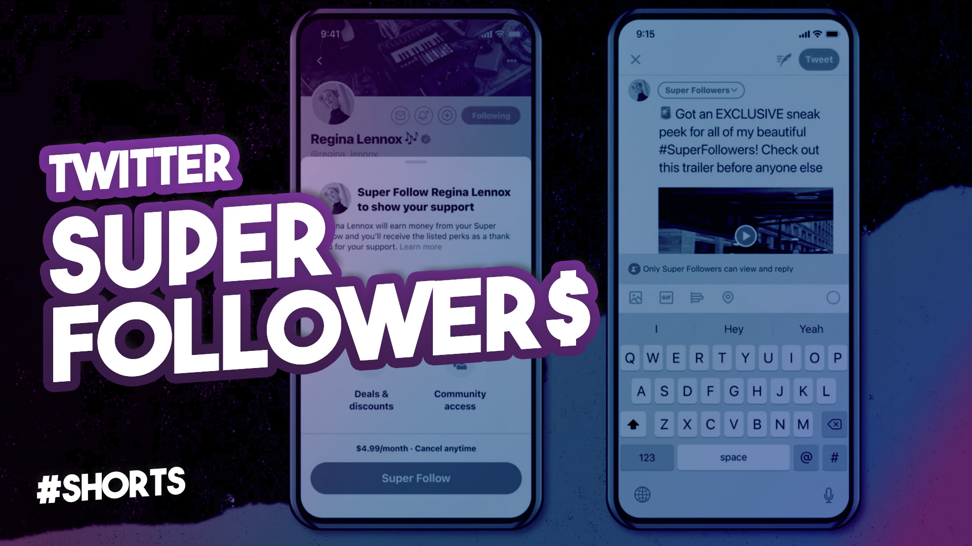 Twitter Super Follow – Comment monétiser son contenu Twitter 2021 #SHORTS